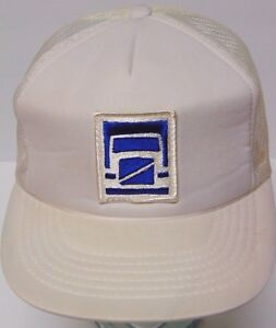 Image is loading Vintage-1980s-VOLVO-TRUCK-TRUCKING-Advertising-SNAPBACK-HAT - 4901895ea7ac