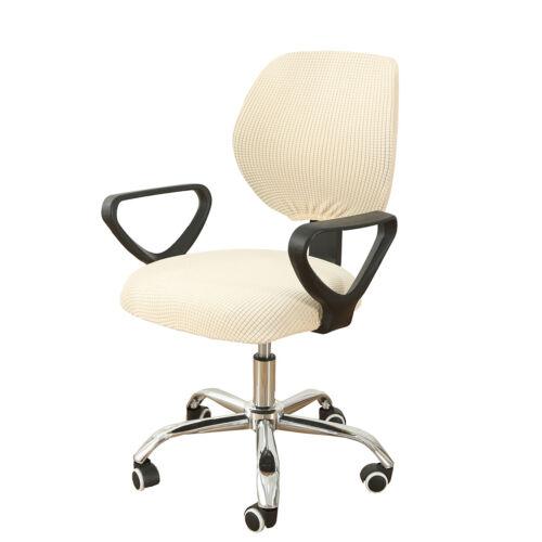 ✅Bürostuhl Stretch Husse Sitzbezug Spandex Drehstuhl Computerstuhl Stuhlhussen