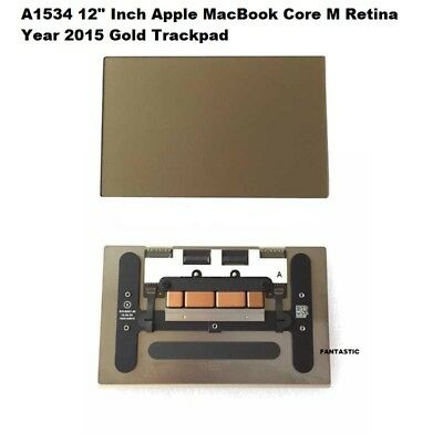 """A1534 12/"""" Inch Apple MacBook Core M Retina  Silver Trackpad Touchpad  Year 2015"""