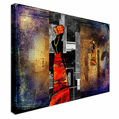 Africa retro vintage style Canvas Wall Art prints high quality