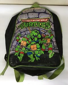 Vintage-1989-TMNT-Teenage-Mutant-Ninja-Turtles-Backpack-Kid-s-Size-Mirage-Studio
