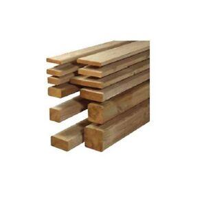 Travi in legno di pino massello impregnato in autoclave | eBay