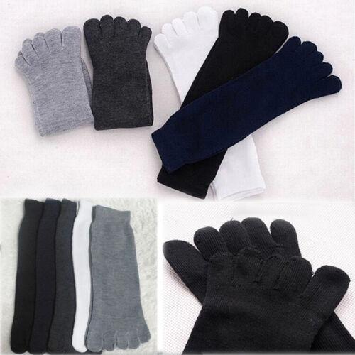 Herren Socken 5 Farbe Sportsocken Fingersocken Fivefingers Zehensocken Warm DE