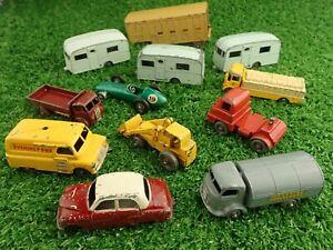 Bundle-of-Vintage-Lesney-Toys-Diecast-Vehicles