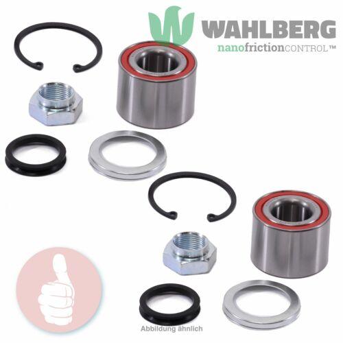 2 x Original WAHLBERG Radlager Radlagersatz WB96444 Hinterachse