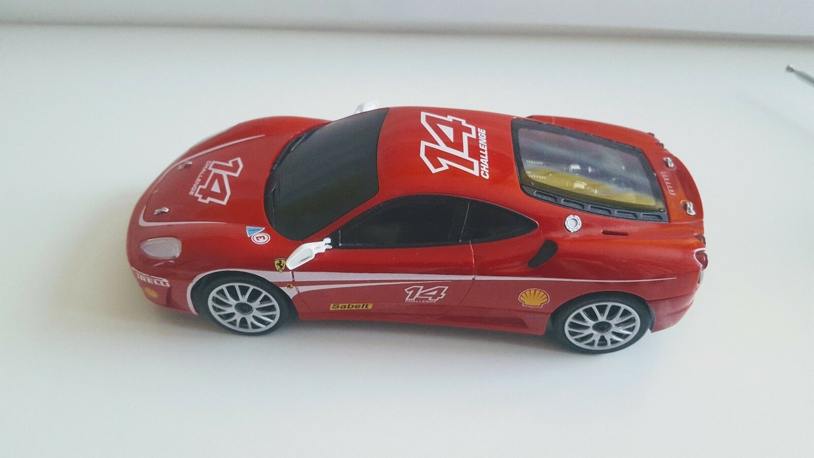 Xin Qiang Super-Elite avec télécommande Ferrari F430 Challenge  14  Rare
