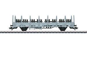 Maerklin-H0-46937-Rungenwagen-Bauart-Ks-der-SBB-034-beladen-mit-Radsaetzen-034-NEU-OVP