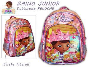 ZAINO JUNIOR - DOTTORESSA PELUCHE (cod. 72116)