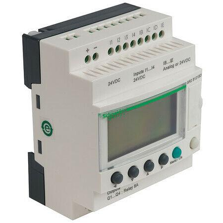 SCHNEIDER ELECTRIC SR2B121FU Logic Relay Input Voltage 100-240VAC