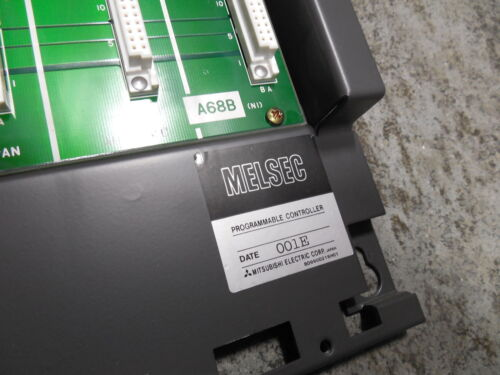 USED Mitsubishi A68B MELSEC 8 Slot Backplane Module BD625A989G52 Rev B