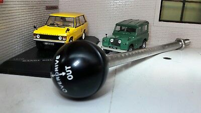 Fairey Overdrive Gearbox Gear Stick Selector Round Knob Land Rover Series 1 2 2a