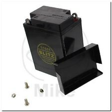 BATTERIA Moto Gel 01611 NERO 6v + COPERCHIO fulmine BATTERY BLACK TRIUMPH-t120