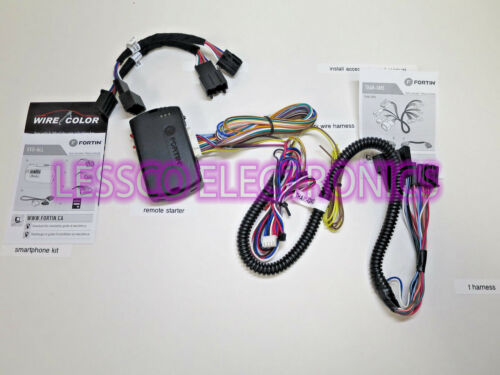 Plug and Play T Harness Remote Start for 2013 2014 2015 2016 Ford Escape