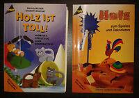 Bastelbuch Bastelzeitschrift Basteln Holz Spielzeug Dekoratives dekorieren