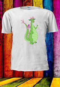 Pete-039-s-drago-Elliott-Cartoni-Animati-Film-Divertente-Uomini-Donne-Unisex-T-shirt-3648