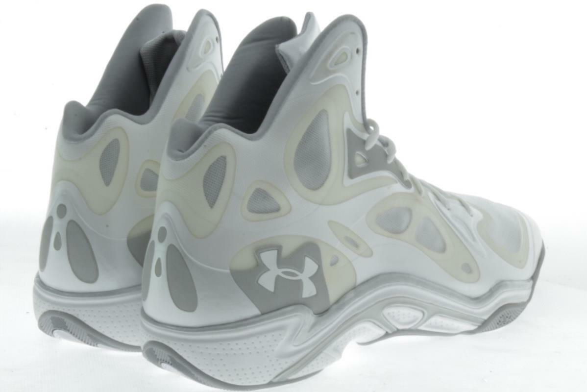 Uomo Large TB Größe  Under Armour TB Large Anatomix Weiß Basketball Schuhes 18 M..200A f21fca