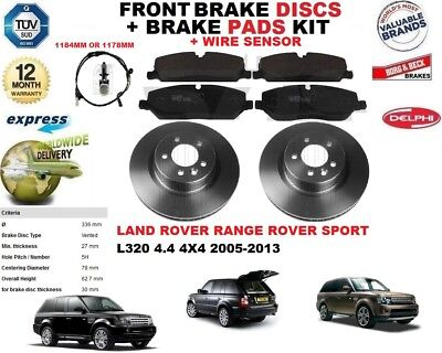 2x Discos De Freno Frente 338mm BMW171 Set Genuino Calidad Reemplazo Juratek Par