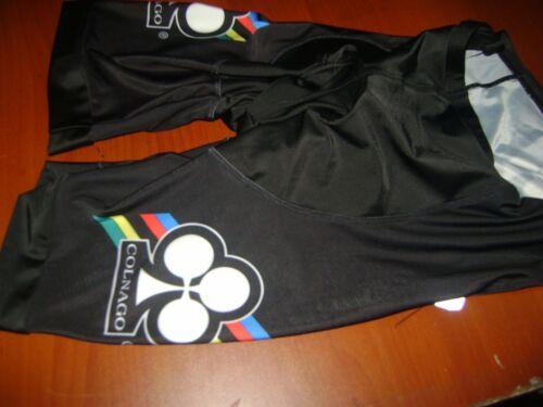 ITALIA BIKE SHORTS BLACK COLNAGO BIKES ITALIAN SHORTS SIZE M COOL ITALY EPS NR