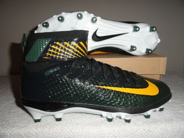 Nike Lunarbeast Elite TD PF Packers Men's Football Cleats 14 US