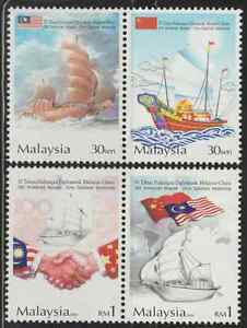 314-MALAYSIA-2004-MALAYSIA-CHINA-DIPLOMATIC-RELATIONSHIP-SET-FRESH-MNH