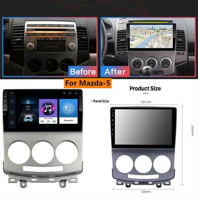 F/ür Mazda 5 2005-2010 Android Autoradio Radio Navigation Unterhaltung Multimedia 9 Zoll HD 1024 600 Unterst/ützung Google//Lenkrad//GPS//WiFi//Bluetooth//SWC//Mirror Link