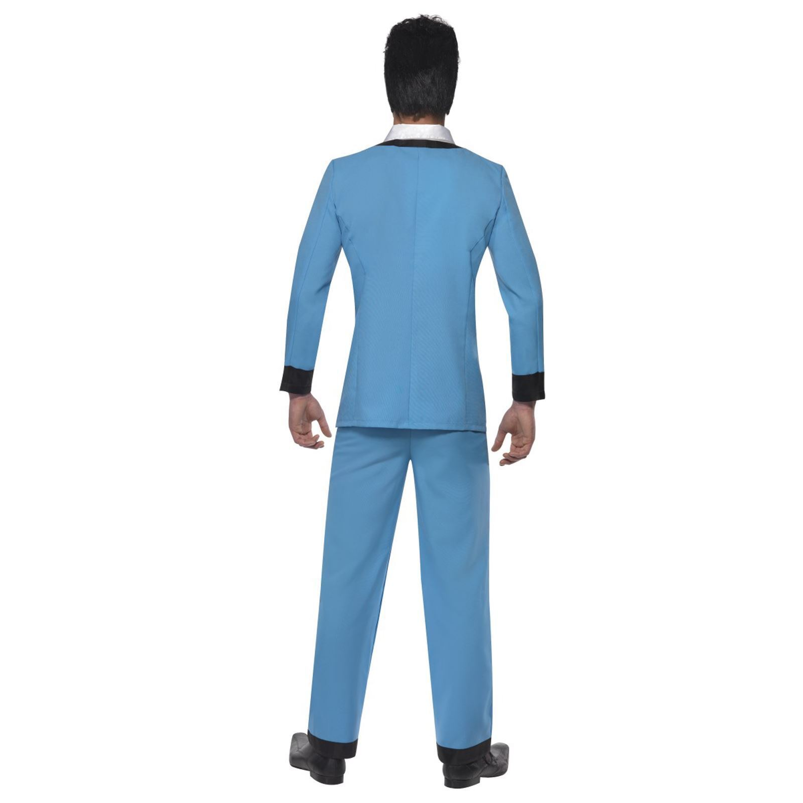 Adult Mens Mens Mens 50s Retro Geek Teddy Boy Music Icon Buddy Fancy Dress Costume Suit | Modern