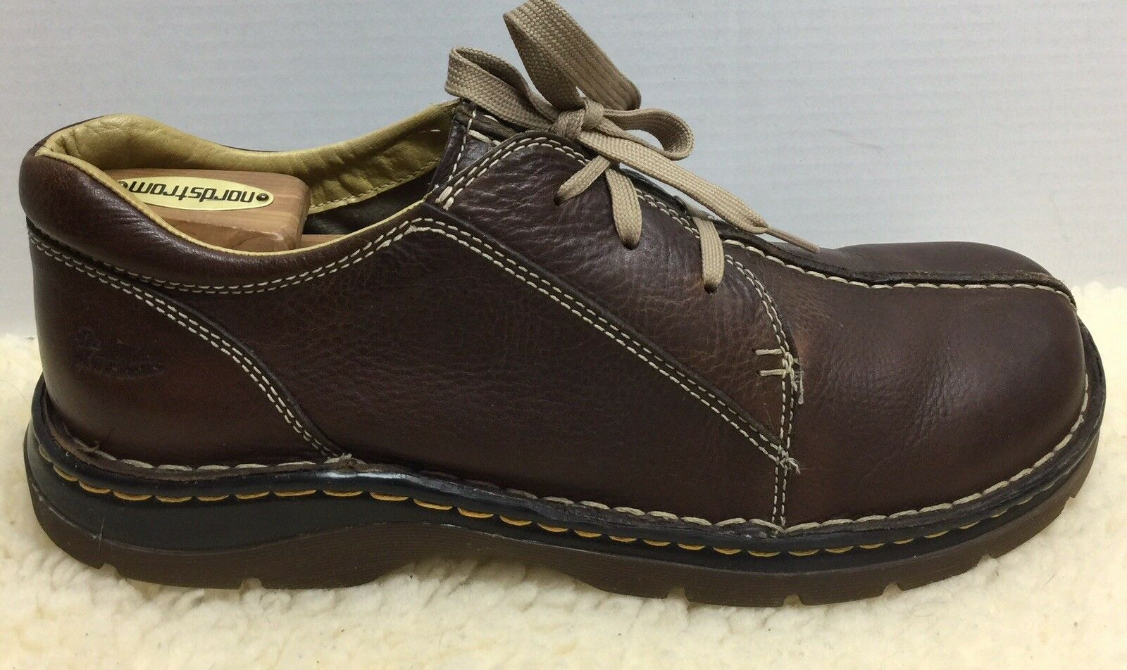 Dr Doc Martens Men's Brown Oxford Lace-up Size US 11 Euro 45 Brown Leather 11232