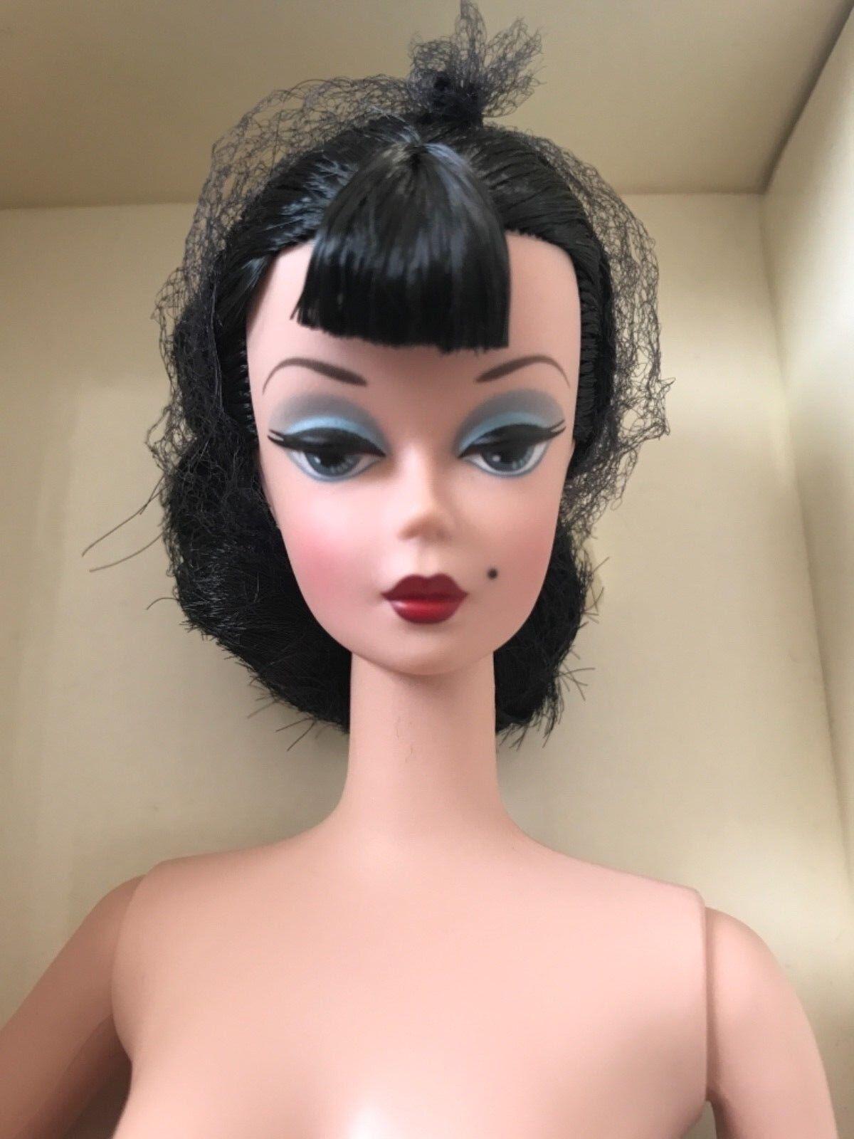 Barbie bfmc Fashion Designer Silkstone desnuda en caja de la FAO LMT ED w cert. de autenticidad & Pulsera Tag