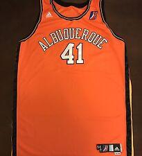 Rare Adidas D-League Albuquerque Thunderbirds Game Worn Basketball Jersey