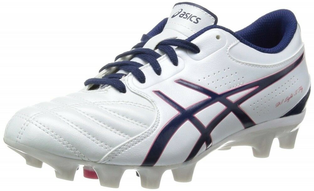 Asics zapatos deportivos de fútbol Pico Mujeres Asics DS Light X-Fly SL TSI801 blancoo Perla Azul Marino