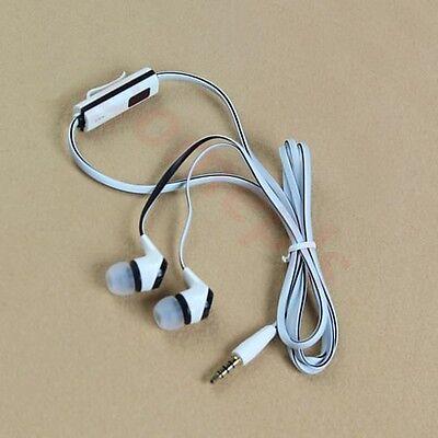 3.5mm Stereo In-ear Headphone Earphone Headset Earbuds for Mobile Phone White