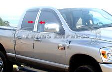 2002-2008 Dodge Ram 1500/03-09 Ram 2500 Quad/Crew Cab 4Pc Chrome Pillar Post