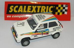 Scalextric Spain Planeta Carlos Sainz Renault 5 Copa Jarama 1983 Mint Limpide à Vue