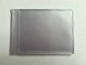 Plastic Credit Card Inserts 6 Sleeves Portrait Style