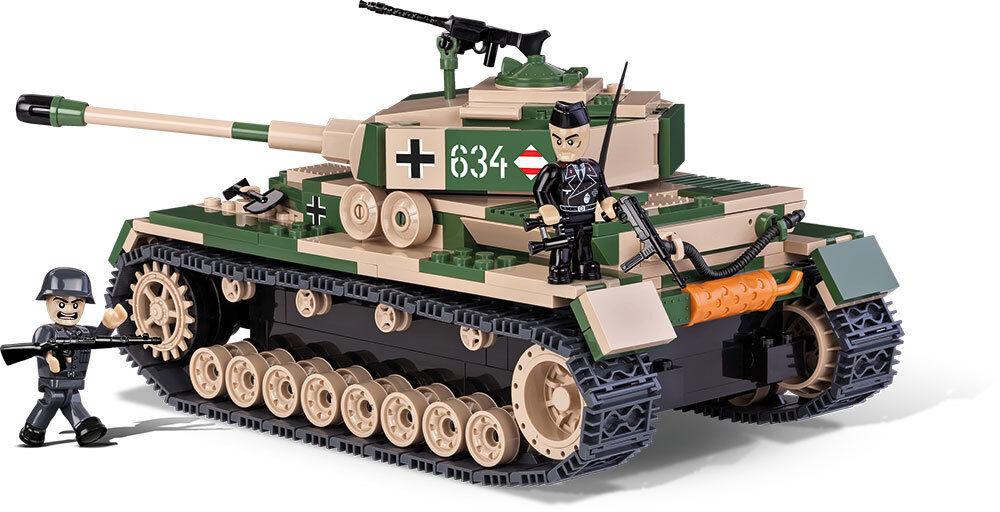 Costruzioni Giocattolo Piccolo Esercito Panzer Pz.kpfw. IV Ausf. F1 G H Cobi