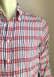 GANT Rugger Shirt, Jerome Plaid, Small, Excellent Condition
