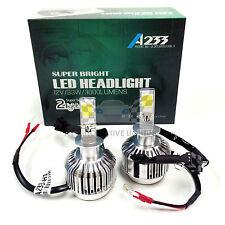 NEW ALL-IN-ONE H1 12V 33W LED Headlight Kit Xenon 6000K Crystal White Bulbs