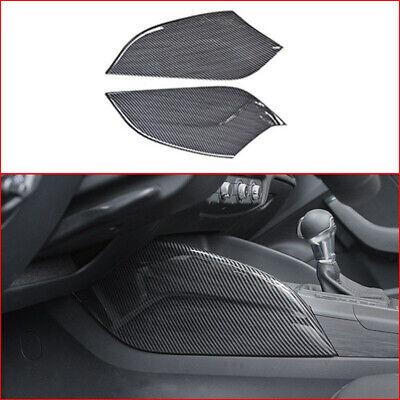 Carbon Fiber Look Strips For Audi A3 8V S3 2013-17 Console Panel Decorative Trim