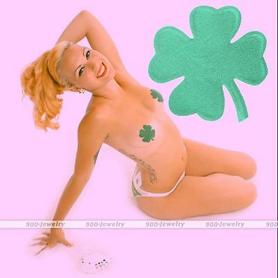 2pcs Sexy Clover Women Nipple Cover Sticker Bra Pad Patch Pasties Disposable EE