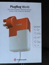 Twelve South PlugBug World MacBook Global Adapter USB Ipad
