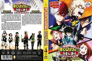 ANIME-DVD-My-Hero-Academia-Season-1-2-1-38End-Eng-sub-amp-All-region-FREE-CD