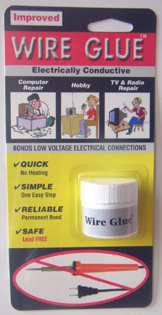 WIRE GLUE Electrically Conductive Glue