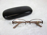 Saks Fifth Avenue Women's Eyeglass Frames Saks 275 0te7 Brown Sand Rx-able