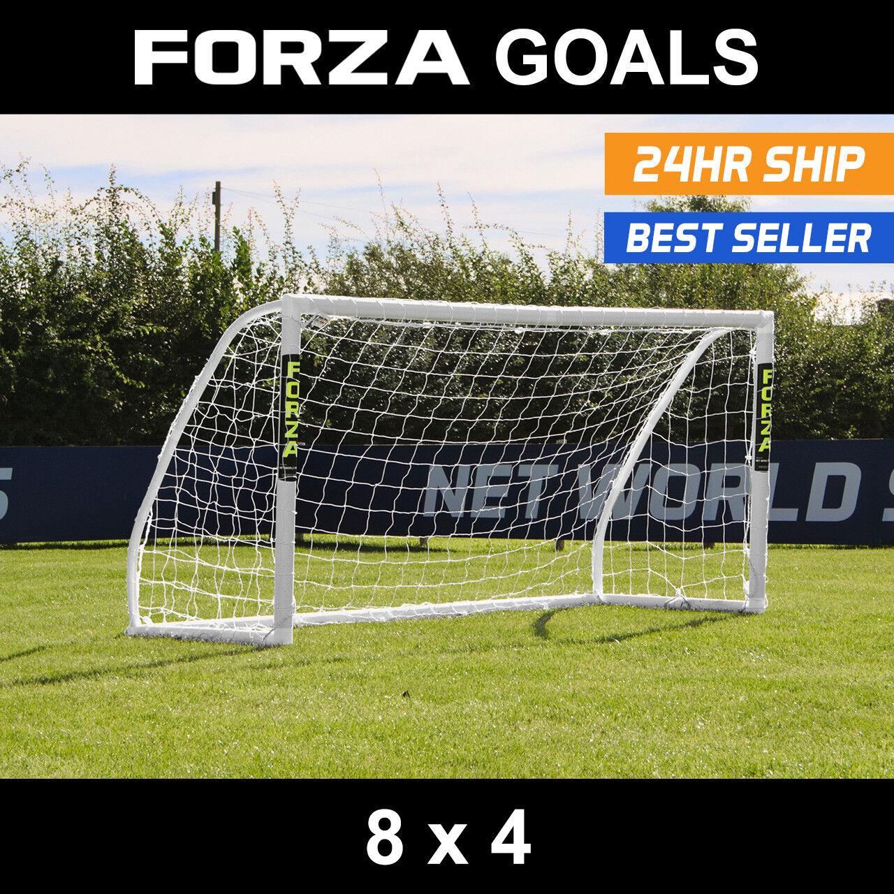 Forza MATCH Fútbol Meta    8 ft (approx. 2.44 m) X 4 ft (approx. 1.22 m)   Meta   Match Junior objetivo objetivo   objetivo de PVC  ordene ahora los precios más bajos