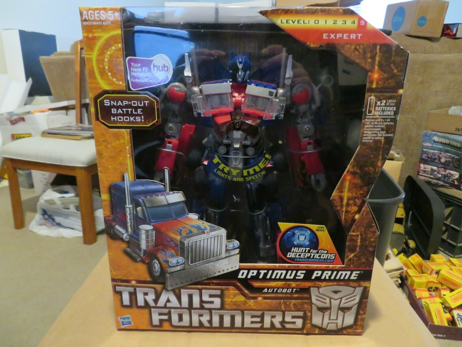 Hasbro Transformers Leader Class Autobot Optimus Prime Truck Mode 2009 MISB