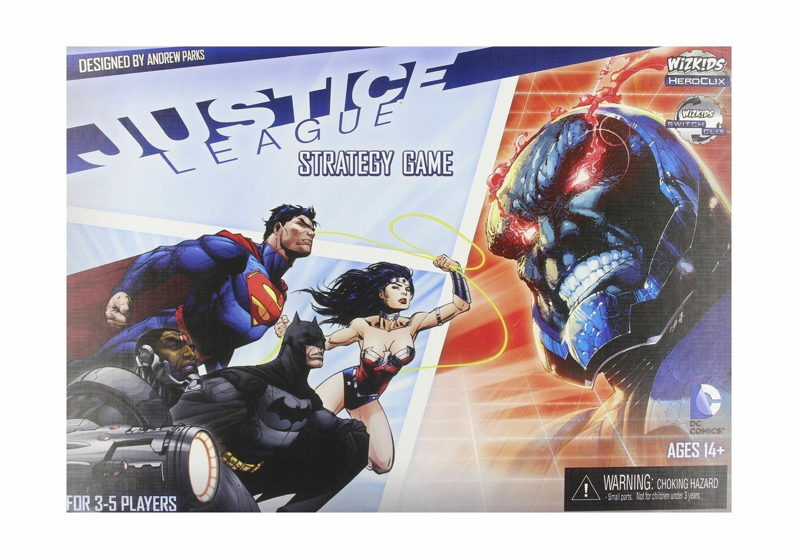 consegna rapida Nuovo Justice League Strategy Strategy Strategy gioco by Wizbambini   FACTORY SEALED  outlet online