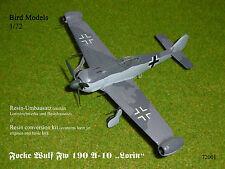 Focke Wulf Fw 190 Z-2 Zwilling    1//72 Bird Models Mischbausatz mixed kit