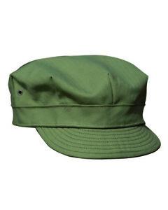 US-Army-WWII-HBT-Feldmuetze-Field-cap-USMC-Vietnam-Gr-XL-Vietnam-USMC-Marines-WK2