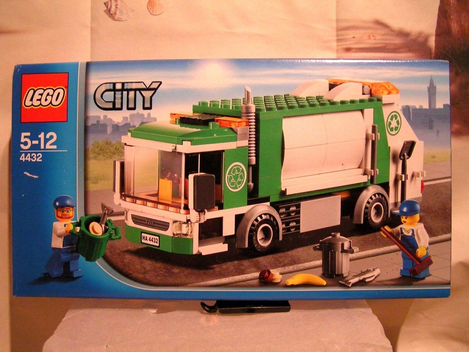 LEGO CITY   -   LE CAMION DE RAMASSAGE DES ORDURES  (BOÎTE SCELLEE)