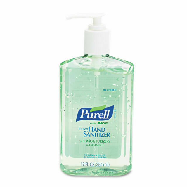 PURELL Advanced Hand Sanitizer Soothing Gel, 12oz - 12 Pack